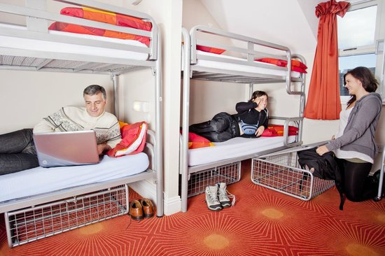 Hostels. Cheap clean accommodation.